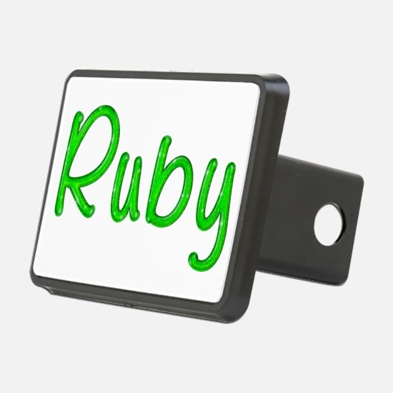 Ruby Glitter Gel Hitch Cover