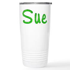 Sue Glitter Gel Travel Mug