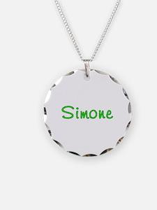 Simone Glitter Gel Necklace
