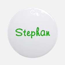 Stephan Glitter Gel Round Ornament