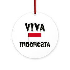 Viva Indonesia Ornament (Round)