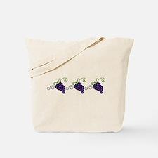 Napa Valley Grapes Tote Bag