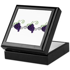 Napa Valley Grapes Keepsake Box