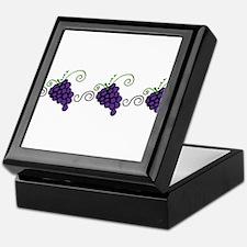 Napa Valley Grapes Keepsake Box