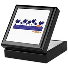 Unique Miami beach Keepsake Box