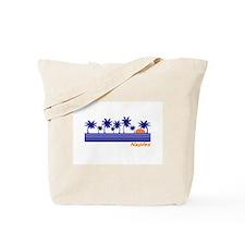 Cute South beach miami Tote Bag