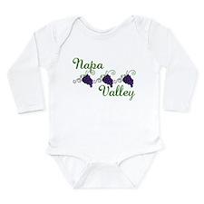 Napa Valley Long Sleeve Infant Bodysuit