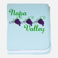 Napa Valley baby blanket