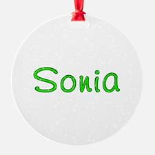 Sonia Glitter Gel Ornament