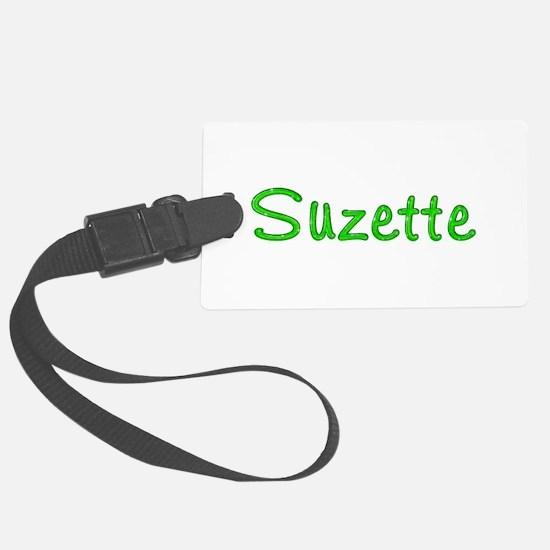 Suzette Glitter Gel Luggage Tag