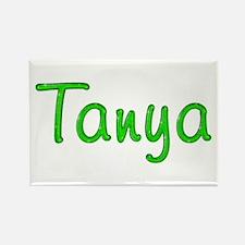 Tanya Glitter Gel Rectangle Magnet