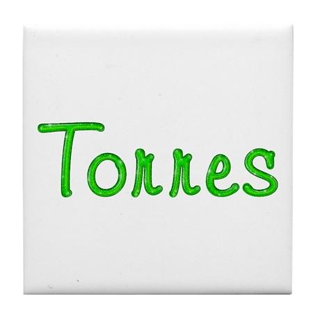 Torres Glitter Gel Tile Coaster