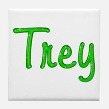 Trey Glitter Gel Tile Coaster