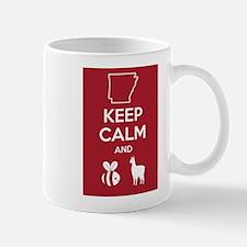 "Bielema Arkansas Razorback ""BeeLlama"" T-Shirt Small Small Mug"