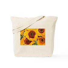 Liquid Sunflowers Tote Bag