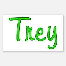 Trey Glitter Gel Rectangle Decal