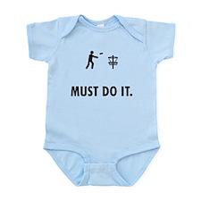 Disc Golf Infant Bodysuit