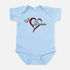 I Love Dance Infant Bodysuit