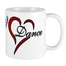 I Love Dance Small Mug