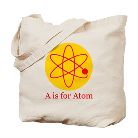 A is for Atom Tote Bag