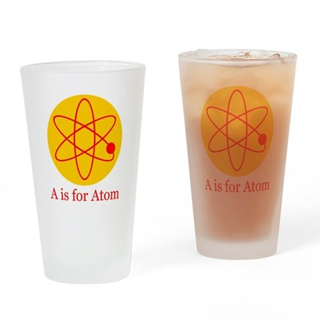A is for Atom Drinking Glass