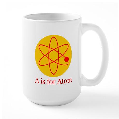 A is for Atom Large Mug