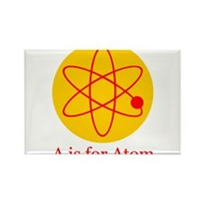 A is for Atom Rectangle Magnet