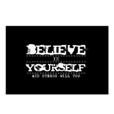 Believe in Yourself V2 Postcards (Package of 8)