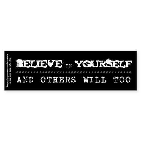 Believe in Yourself V2 Sticker (Bumper 10 pk)