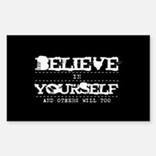 Believe in Yourself V2 Decal