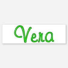 Vera Glitter Gel Bumper Bumper Bumper Sticker