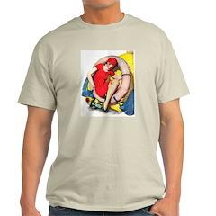 Saving Her Sole Ash Grey T-Shirt