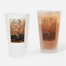 George Osborne: Im In Control Drinking Glass