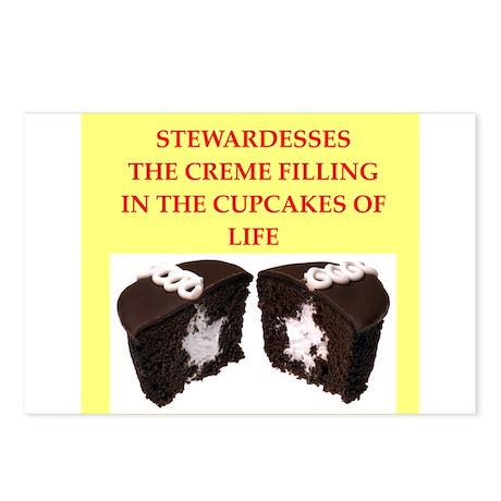stewardess Postcards (Package of 8)