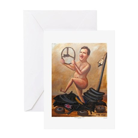 George Osborne (poster): Im In Control Greeting Ca