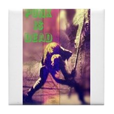 Punk is Dead Tile Coaster