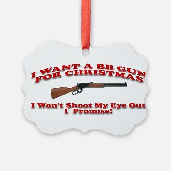 Cute Bb gun Ornament