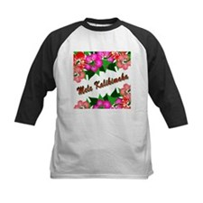 Mele Kalikimaka with flowers Tee