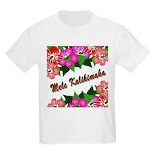 Mele Kalikimaka with flowers T-Shirt