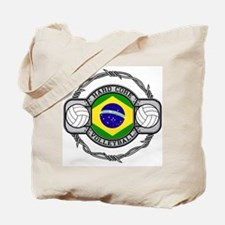 Brazil Volleyball Tote Bag