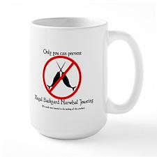 Illegal Backyard Narwhal Jousting Mug