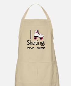 I Love Roller Skating Apron