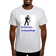 I'm Not Lost Ash Grey T-Shirt T-Shirt