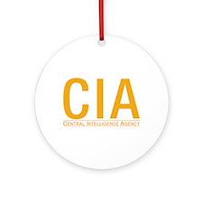 CIA CIA CIA Ornament (Round)