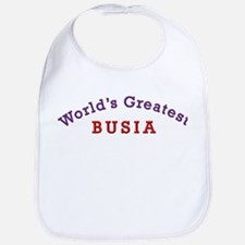 Worlds Greatest Busia Bib