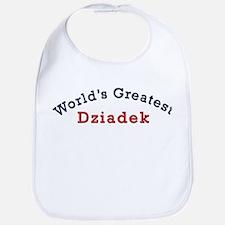 Worlds Greatest Dziadek Bib