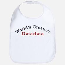 Worlds Greatest Dziadzia Bib