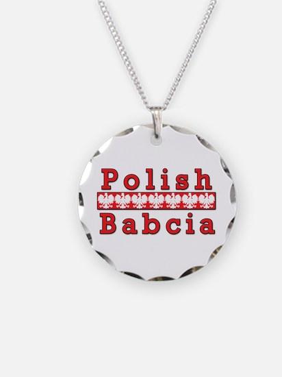 Polish Babcia Eagles Necklace