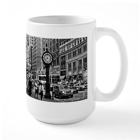 Fifth Ave - New York City Large Mug
