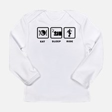 Unicycle Long Sleeve Infant T-Shirt